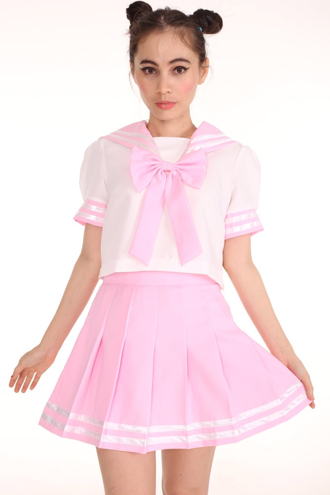 Image of Sailor Moon Inspired 2 Piece Set in Pink