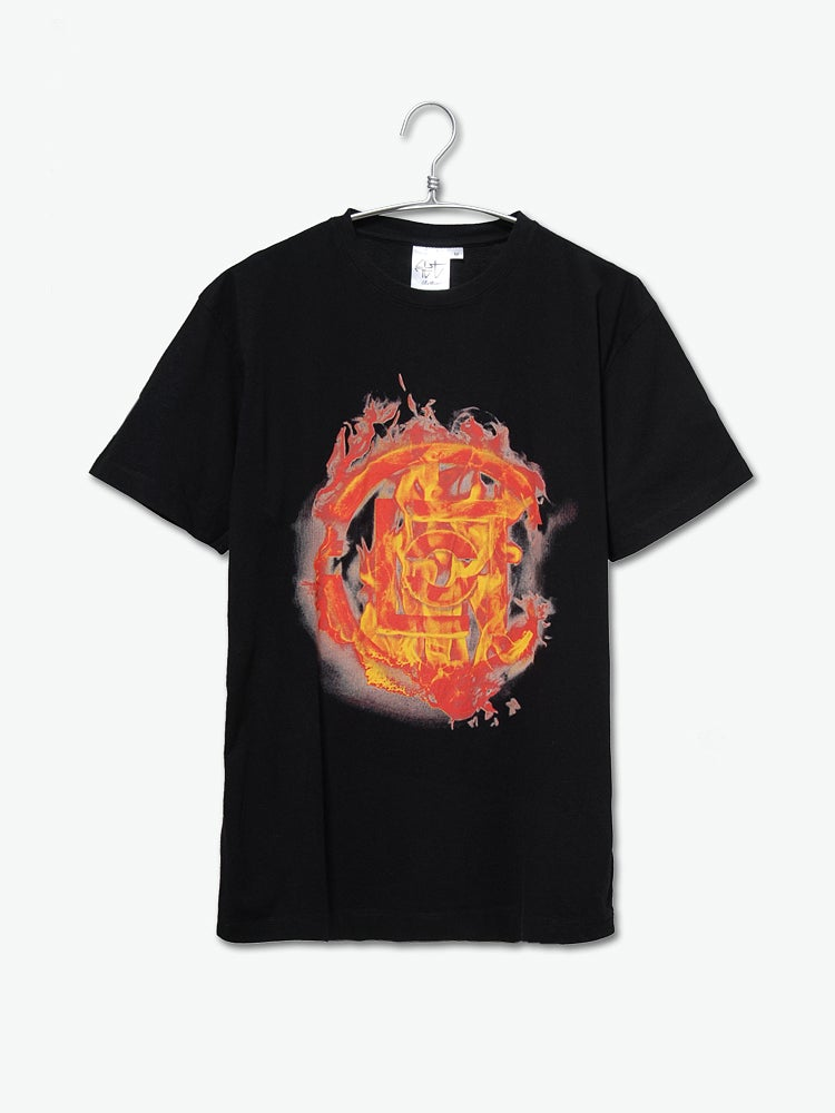 Image of CLOT (Clottee) - Fire Logo Tee (Black)