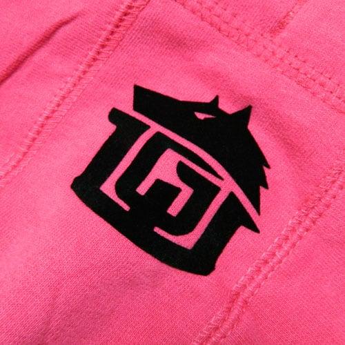 Image of GAME-WORN Ladies Pullover Hoodie - Punk Pink/Black