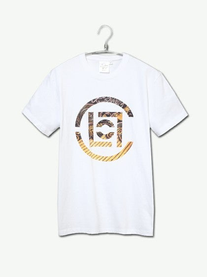 Image of CLOT (Clottee) - Gold Clot logo Tee (White)