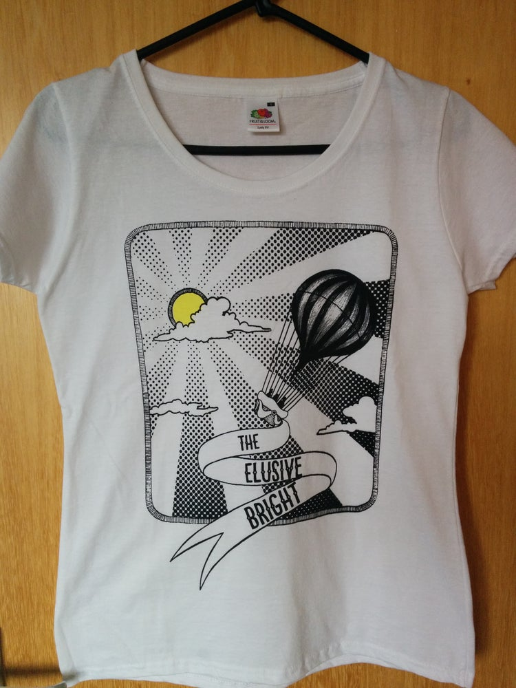 Image of Ladies T-shirt, Handprinted original design