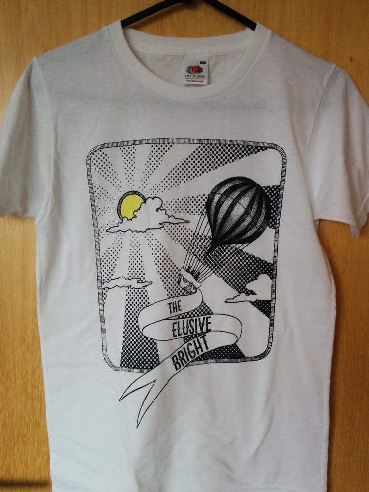 Image of Men's T-shirt, original handprinted design