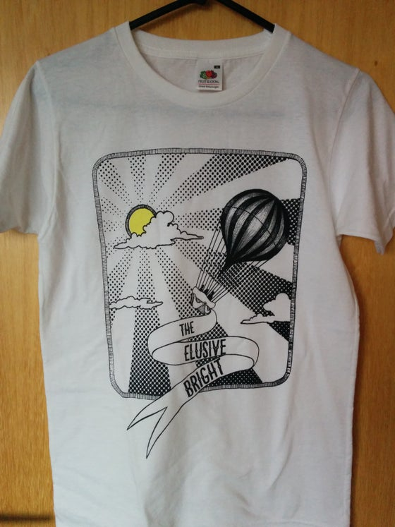 Image of Men's T-shirt, original handprinted design