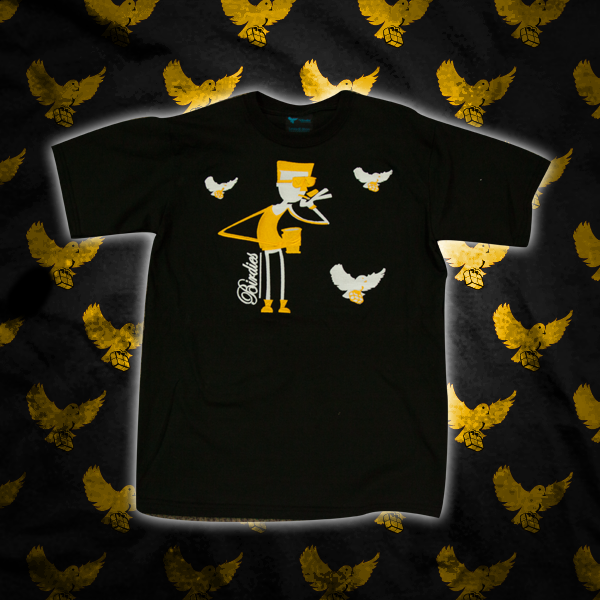 Image of Black/Yellow Fly Guy T Shirt