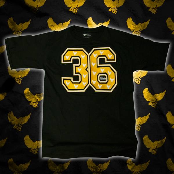 Image of Black/Gold 36 T Shirt