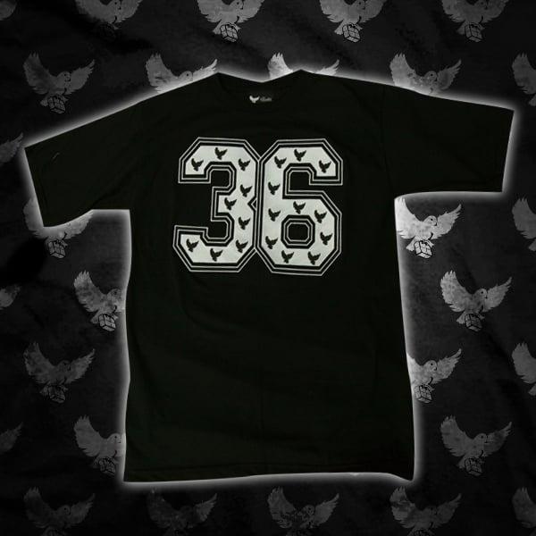 Image of Black/White 36 T Shirt