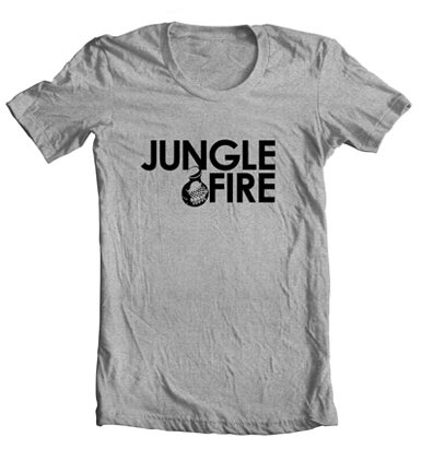 Image of Logo Tee - Heather Grey/Black