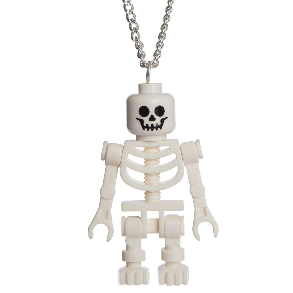 Image of Lego Skeleton Necklace
