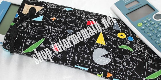 Image of Simply Math FBT Calculator/Pencil Pouch