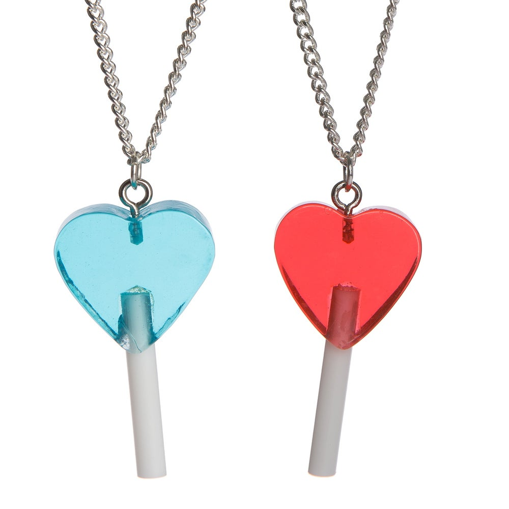 Image of Heart Lolly Pendant
