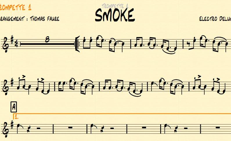 Image of SMOKE - Big Band version