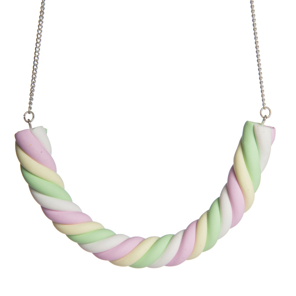 Image of Giant Multicoloured Flump Necklace