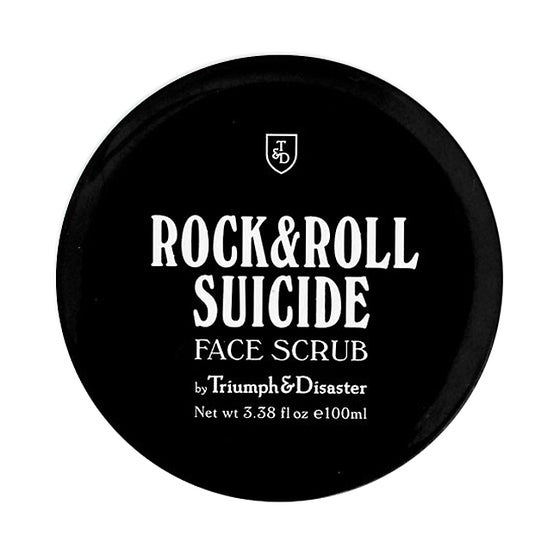 Image of ROCK & ROLL SUICIDE – VOLCANIC ASH & GREEN CLAY FACE SCRUB