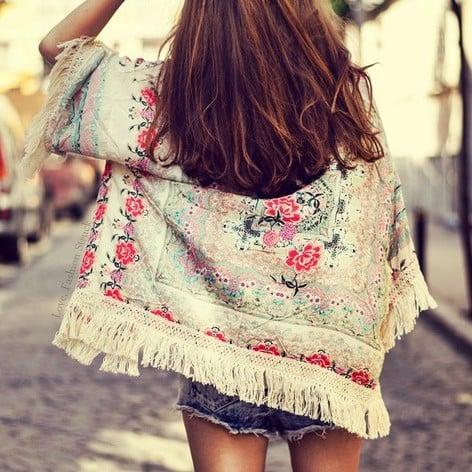 Image of Mae Mint Kimono