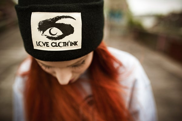 Image of LOVE CLOTH'INK BEANIES AND SNAPBACKS