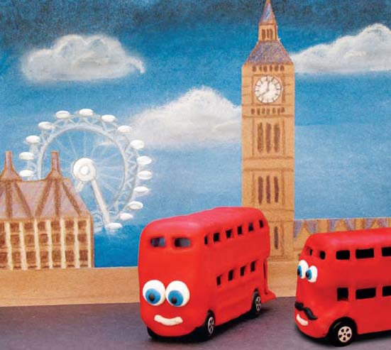 Image of Bradley the Bus in London