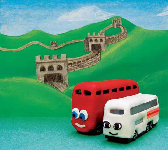 Bradley the Bus in China - Poster