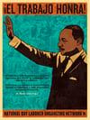 ¡El Trabajo Honra! - Martin Luther King Jr. Poster