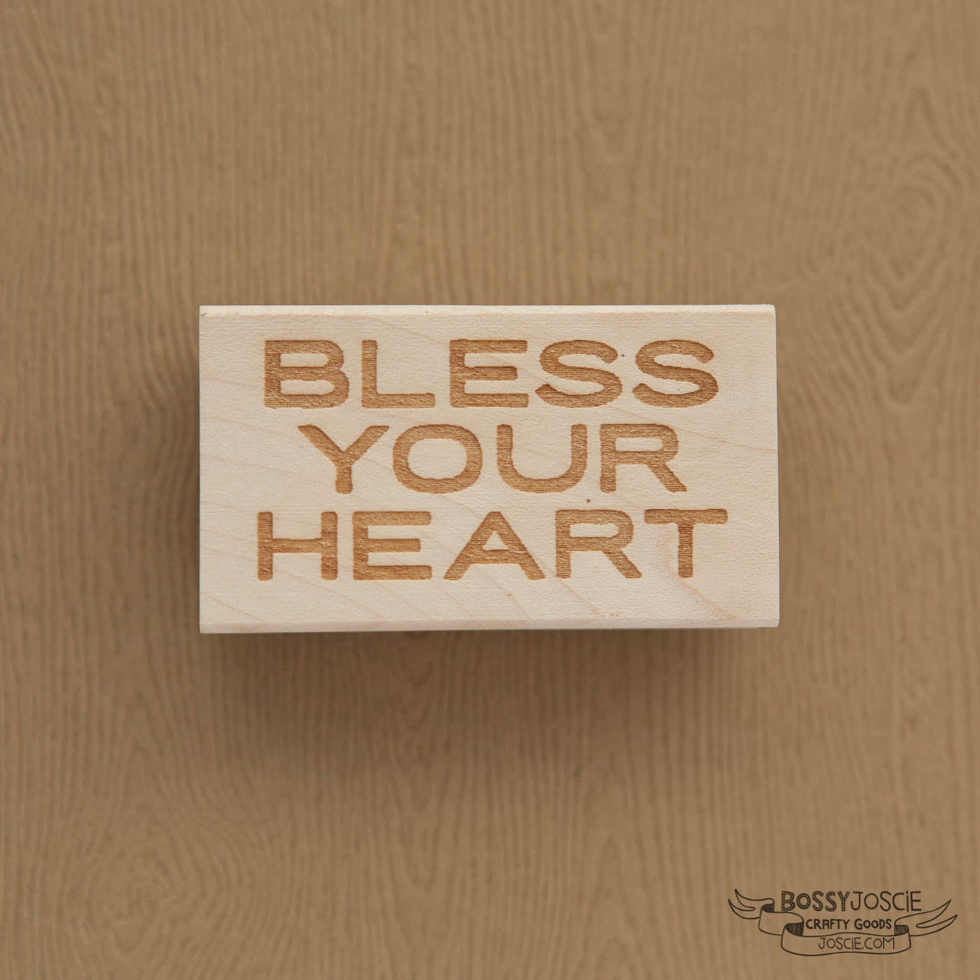 Image of Bless Your Heart Stamp