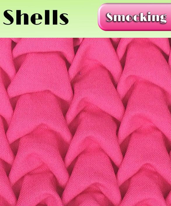 PDF - Heirloom Smocking Pattern - 07 - Shells