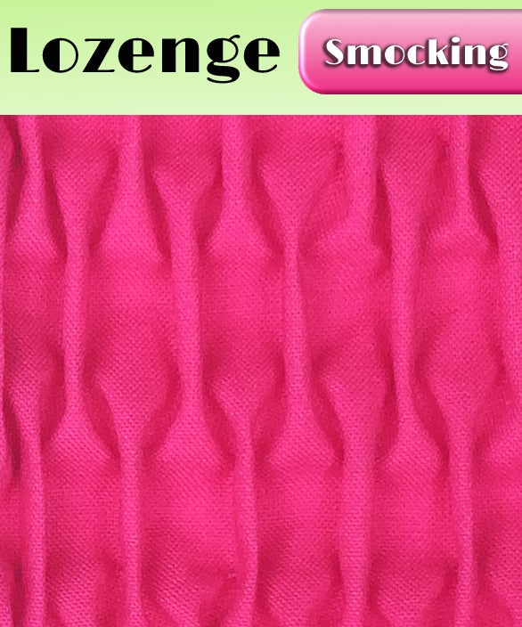 Image of PDF - Heirloom Smocking Pattern - 08 - Lozenge