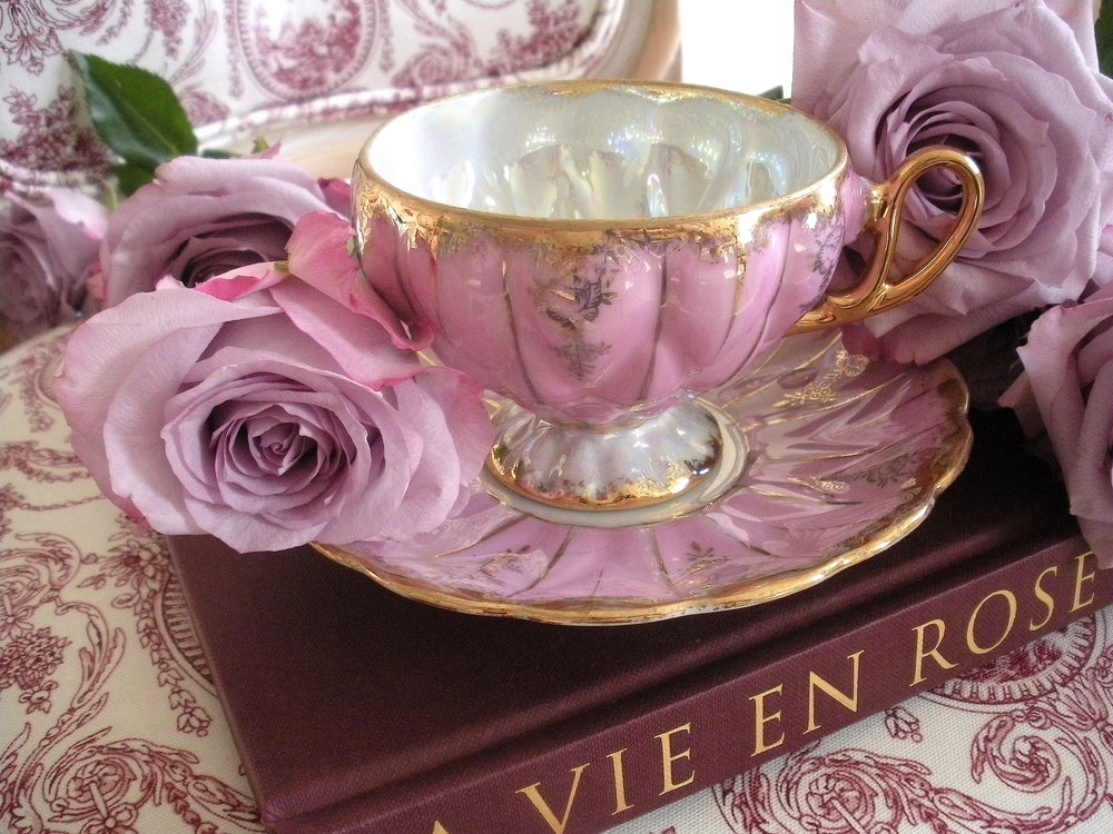 Image of Hand Painted Tea Cup