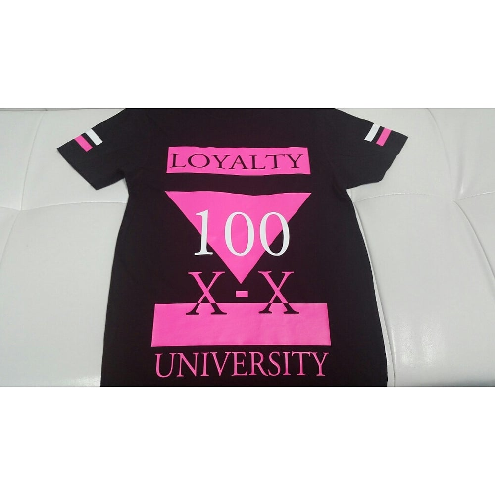 "Image of ""100"" Loyalty University T-Shirt"