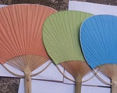 Image of Hand Fans Various Colors/ Quantities/ Free shipping