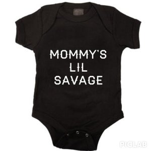 Image of Mommy's Lil Savage Onesie