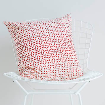Image of Cherry Atticus Cushion Cover