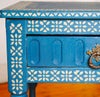 Rajasthan Border Stencil for walls, furniture. Moroccan, Indian style