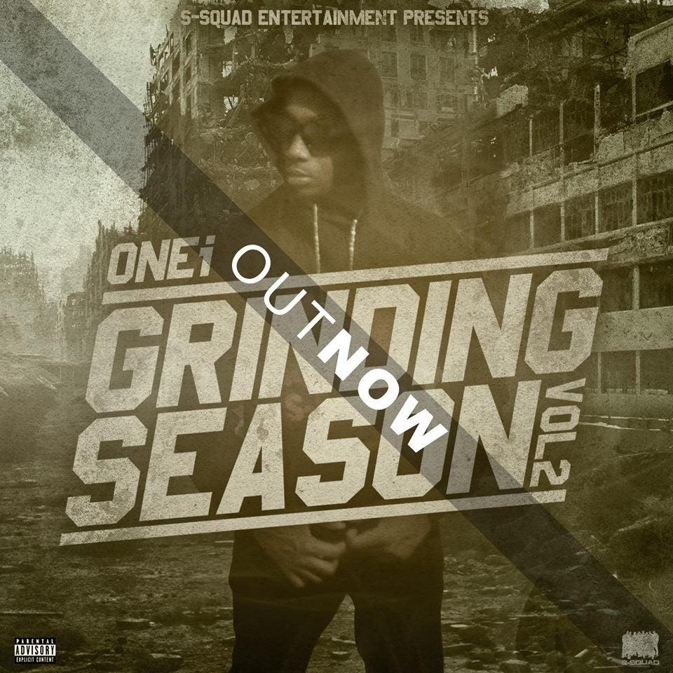 Image of ORDER HARDCOPY NOW:  Onei- Grinding Season Vol 2 Hosted By DJ Biggoss