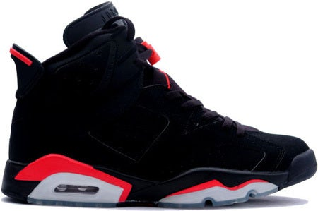 the latest d8f94 32b39 Air Jordan 6 VI Retro (black / varsity red)