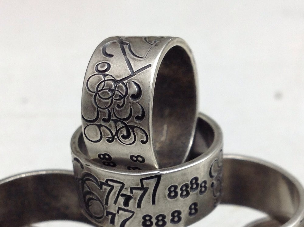 Image of Eight eights ring