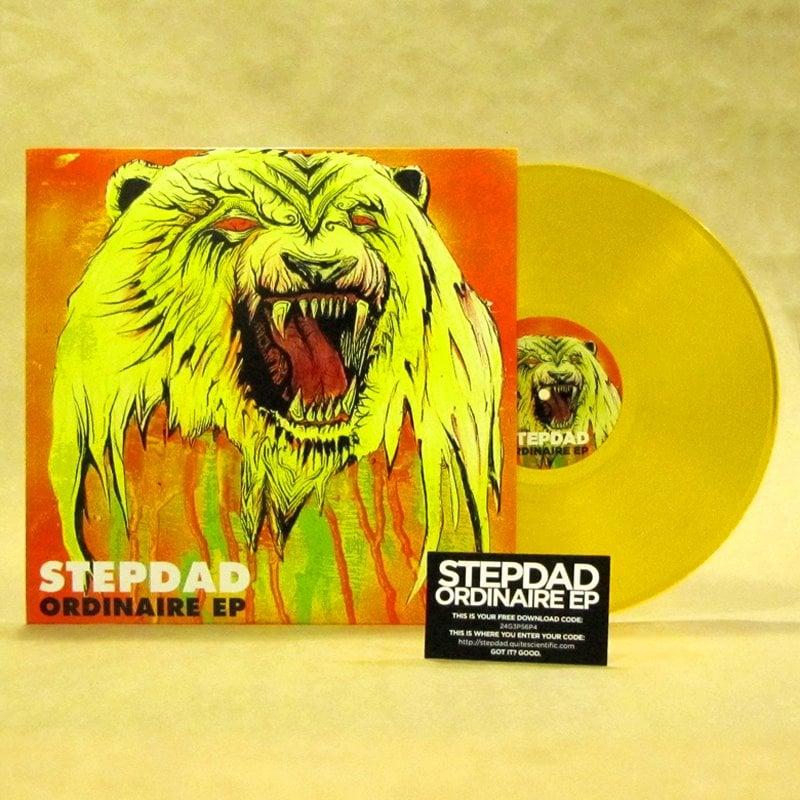 Image of Ordinaire EP (Translucent Gold Vinyl + Digital Download Card)