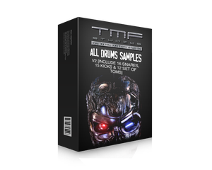 Image of All Drums Samples V2 [Includes 20 Snares, 16 Kicks & 13 set of toms]