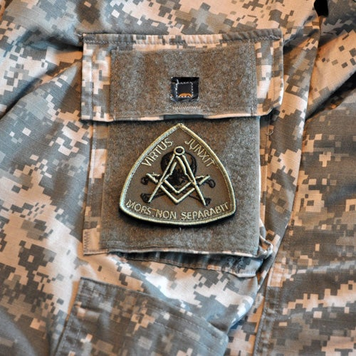 Image of Olive drab (crocodile) morale patch