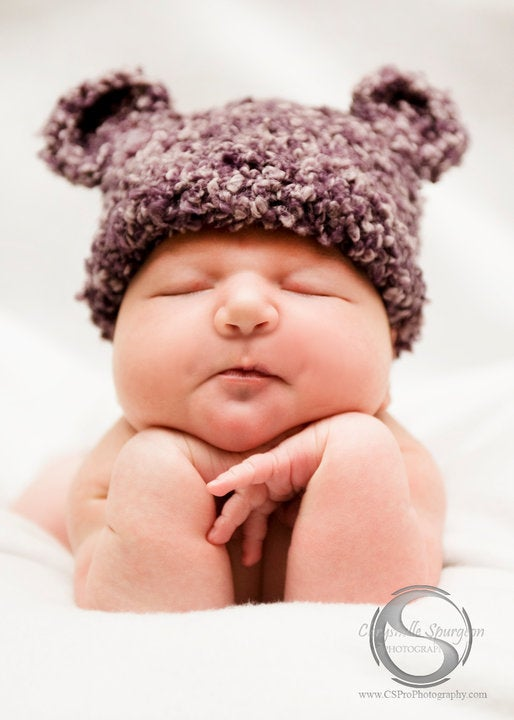 Image of Knobby Ted E Bear, Newborn, Photo Prop