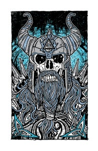 Image of Viking Warrior Print