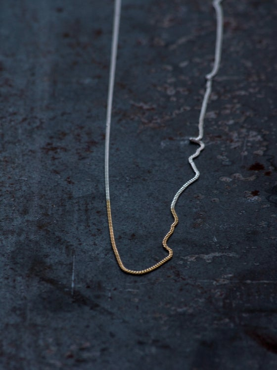 Image of GOLD DIP NECKLACE