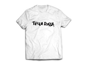 Image of TESLA ROSSA Sharpie Logo Tee
