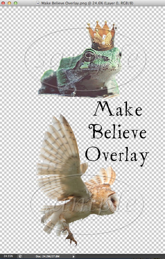 Image of Make Believe Overlay