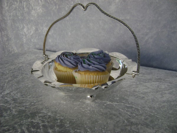 Image of CAKE BOWL SILVER PLATED AC40003