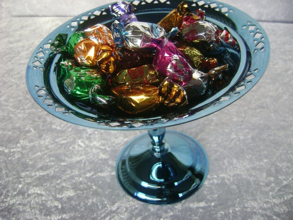 Image of SERVING STAND - CANDY BLUE UG50001