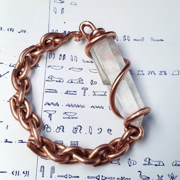 Image of Set Crystal Bracelets (Power Bracelets)