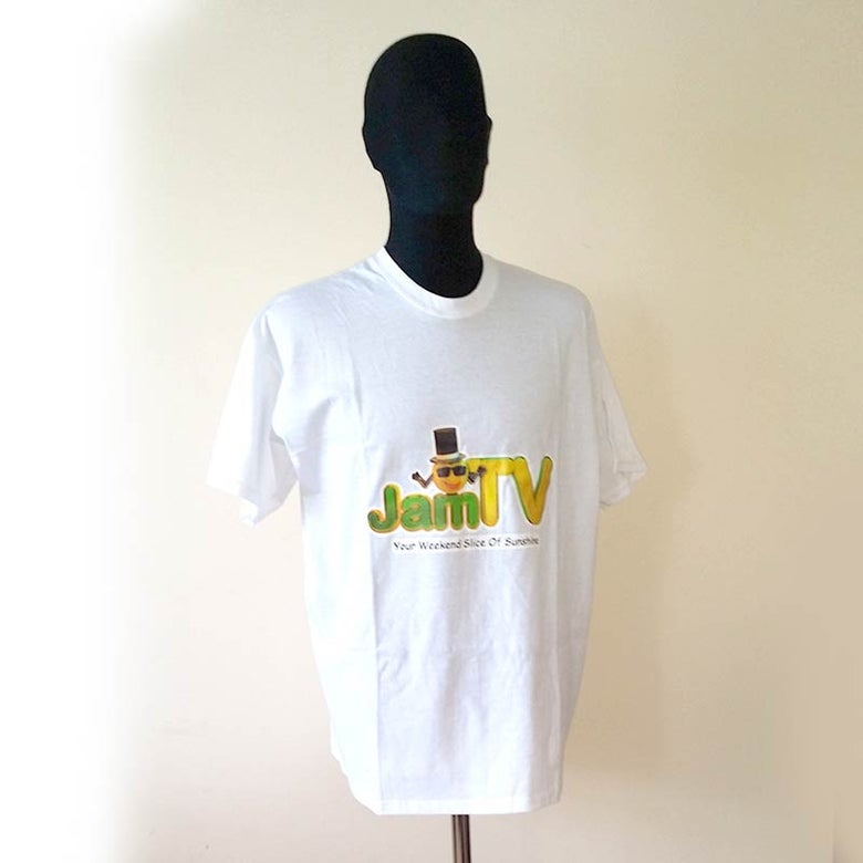 Image of Mens White T-shirt