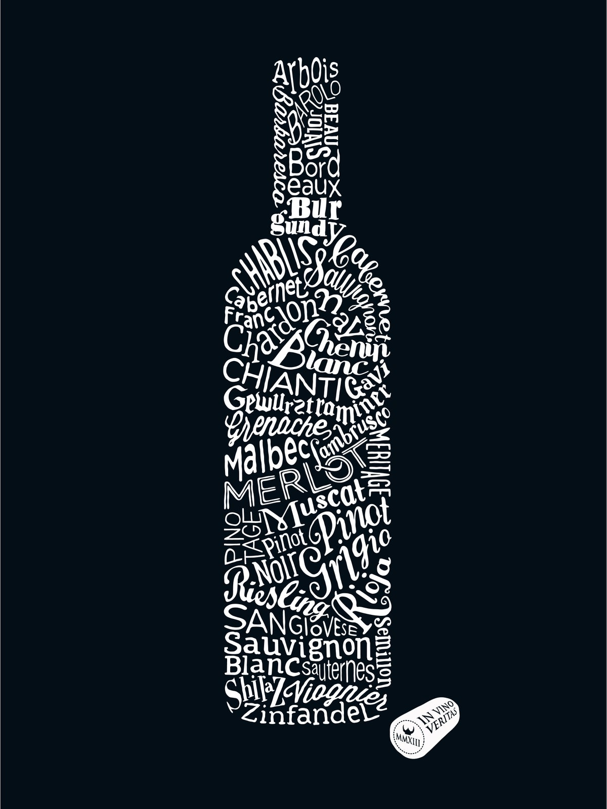 Image of Wine Types (Black, 2013)
