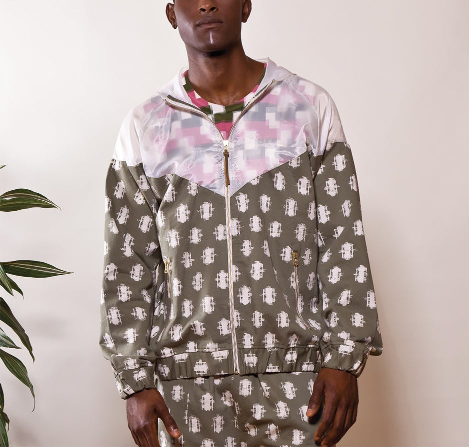 "Image of ""Lamba Weave"" Windbreaker (MADAGASCAR EDITION)"