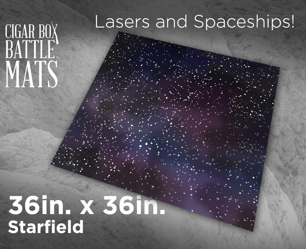 Image of Starfield Battle Mat -- 3x3 -- #126