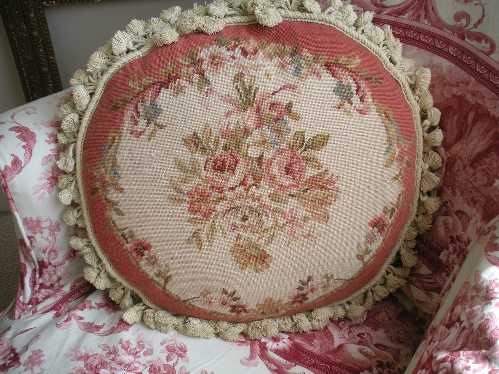 Image of French Aubusson Pillow